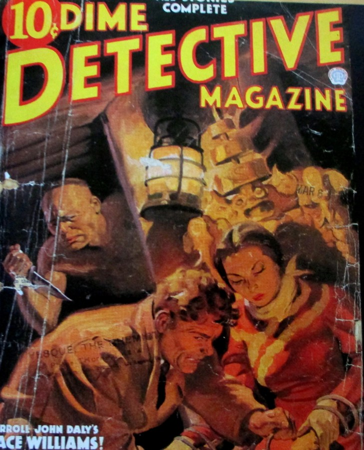Race Williams | Dime Detective Magazine