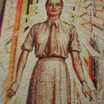 Mervyn Napier Waller mural | Hall of Memory | Australian War Memorial (Women's Services)