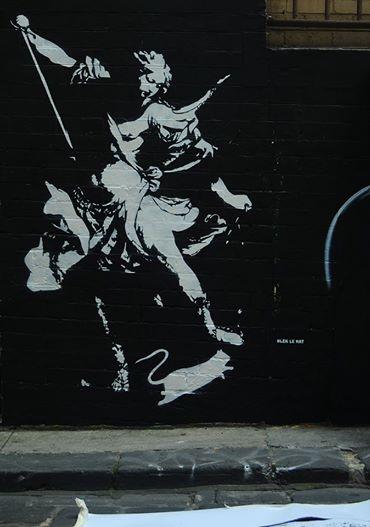Blek le Rat   Hosier Lane