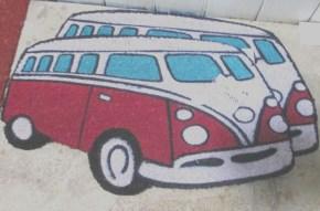 VW Combi Door mats