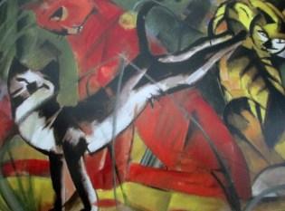 Franz Marc | 3 Cats (1913 Dusseldorf)