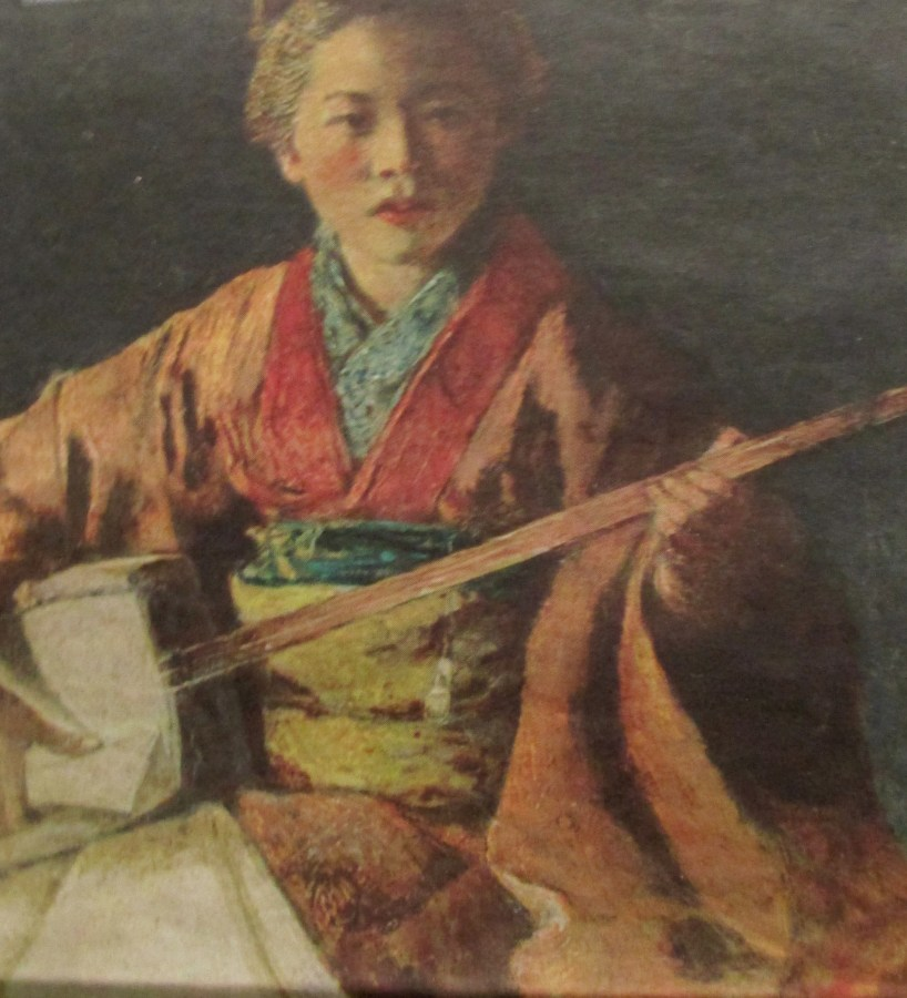 Mortimer Menpes | The Shamisen Playe