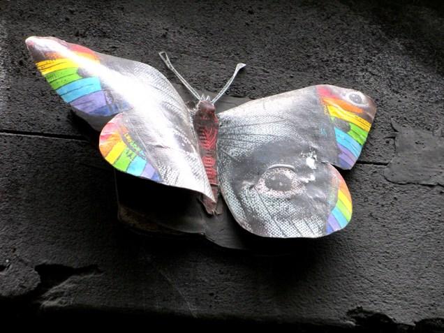 Phoenix the Street Artist   Butterfly