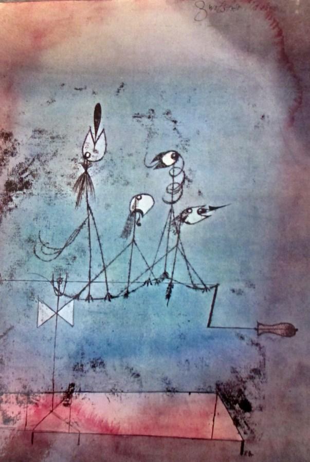 Paul Klee   Twittering Machine