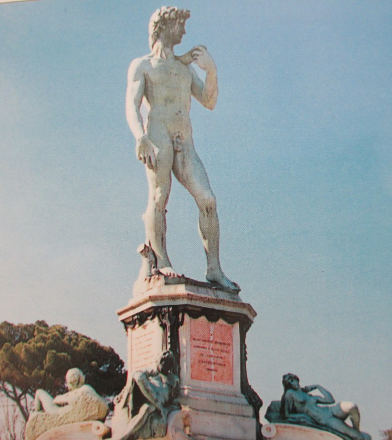 Michelangelo | Statue of David | Piazzale, Florence