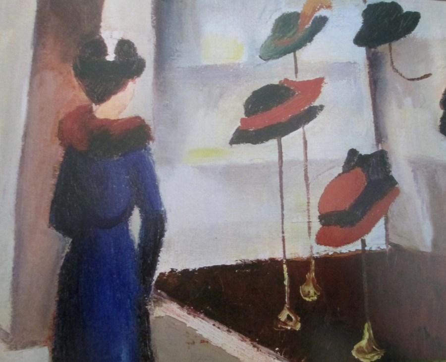 August Macke   Hat Shop (1913)