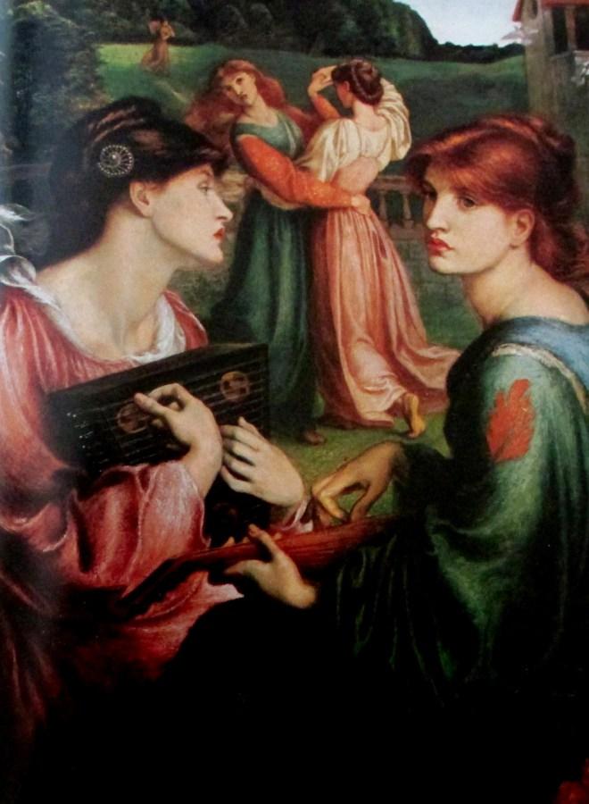 Dante Gabriel Rosetti | The Bower Meadow