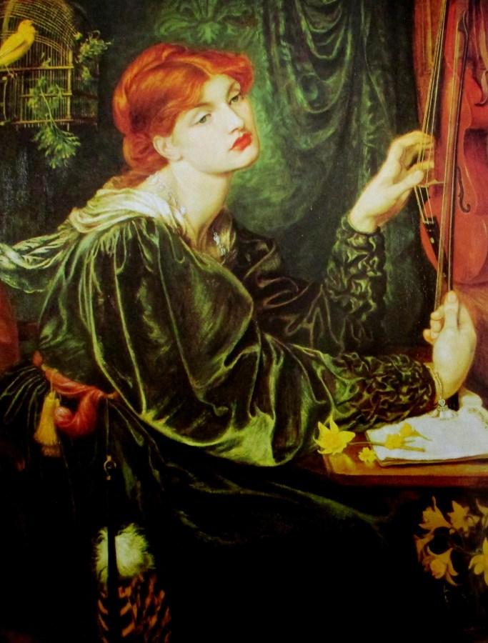 Dante Gabriel Rosetti | Veronica Veronesee 1872