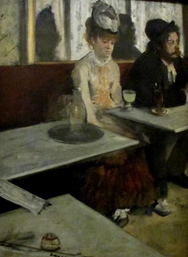 Edgar Degas | In a Cafe (The Absinthe Drinker) 1875-76