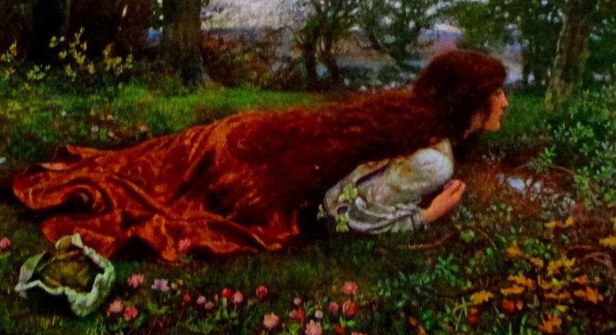 Edward Robert Hughes | Princess Out of School ( c 1901)
