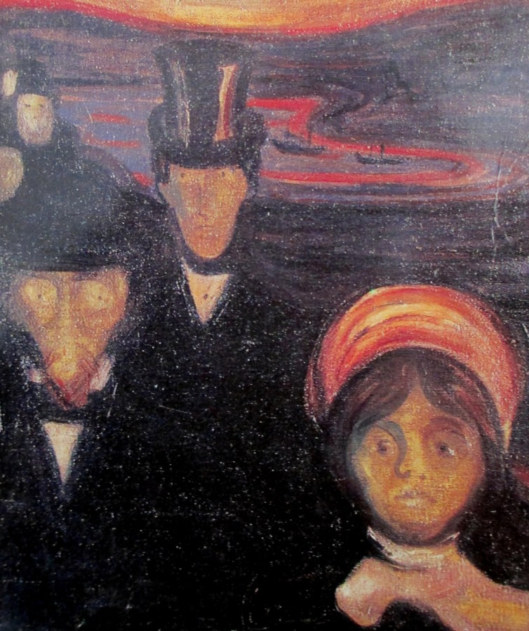 Edvard Munch | Agony [Detail]