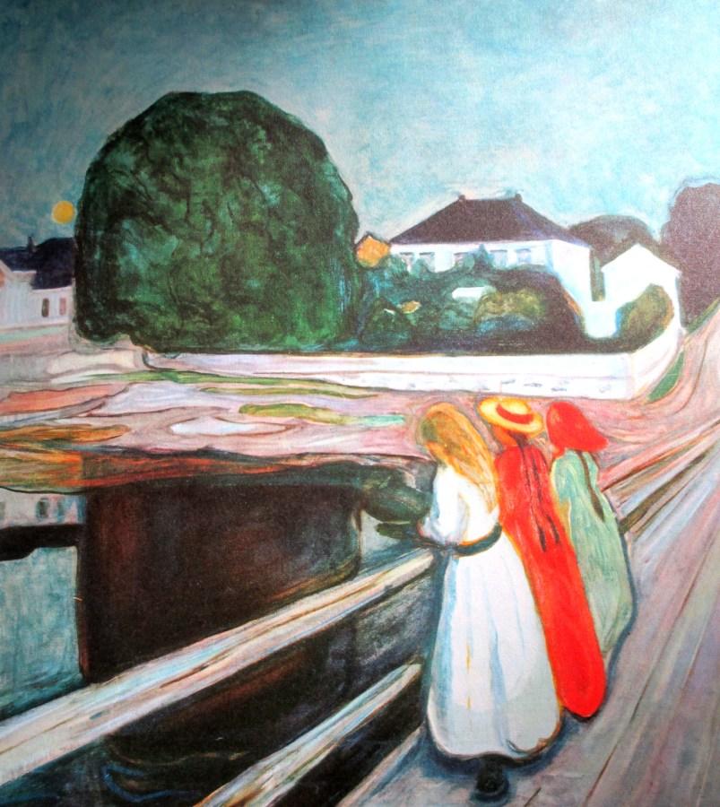 Edvard Munch | Girls on the Bridge (1899)