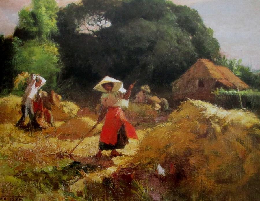 Fernando Cueto Amorsolo | Rural Landscape