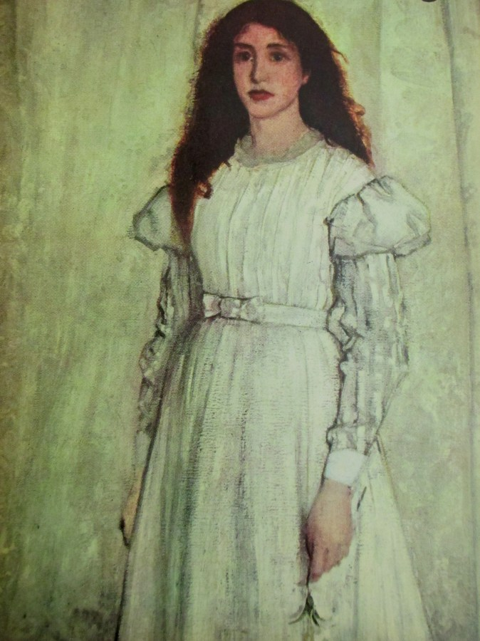 James McNeil Whistler | The White Girl [Detail]