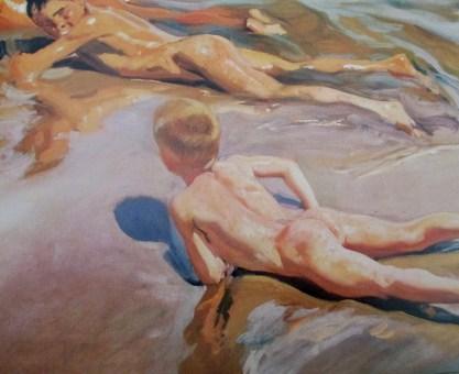 Joaquin Sorolla | Boys on a Beach (1910)