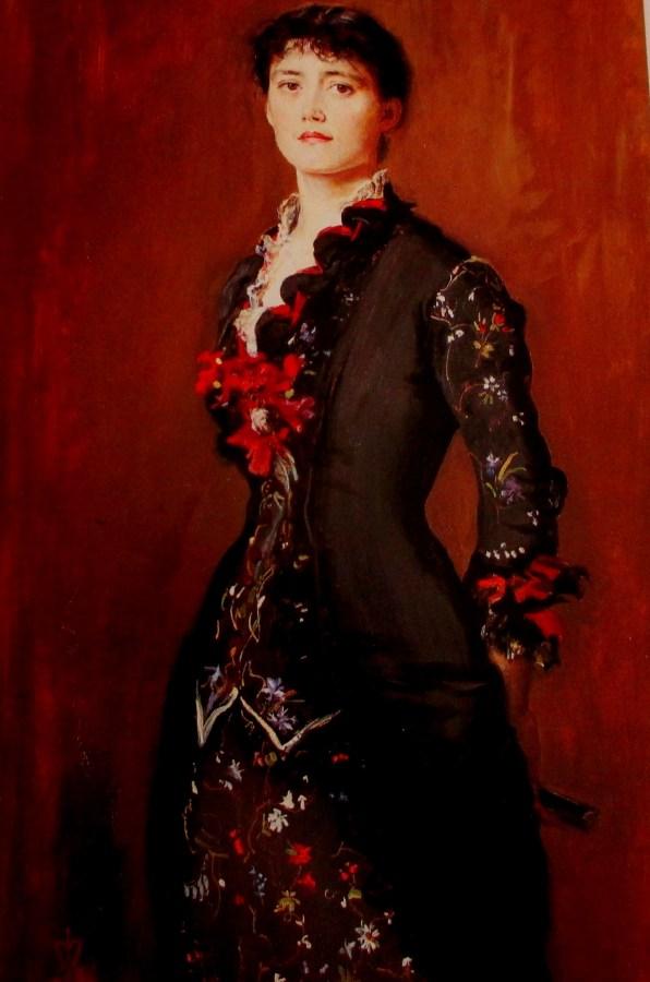 John Everett Milais | Portrait of Louise Jopling
