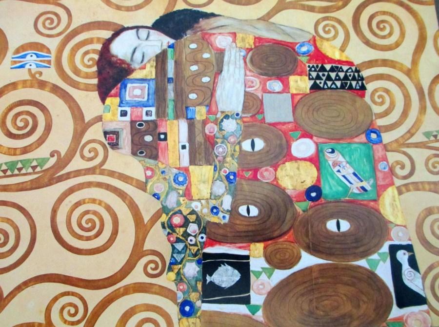 Gustav Klimt | Fulfillment (Stoclet Frieze) 1909