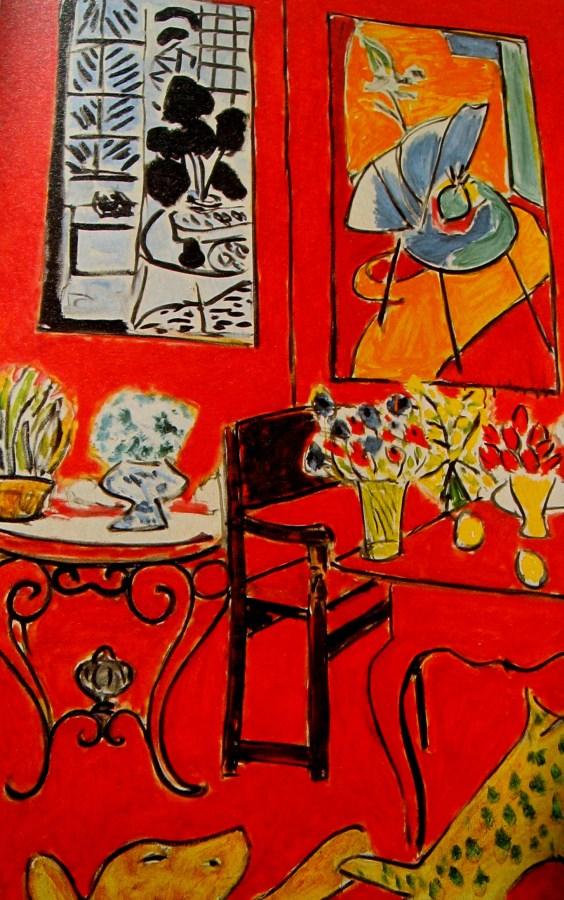 Henri Matisse   Large Red Interior (1948)
