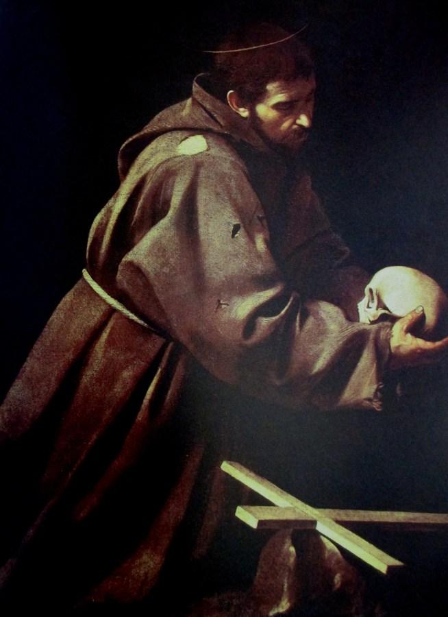 Michelangelo Merisi da Caravaggio   St Francis Meditating