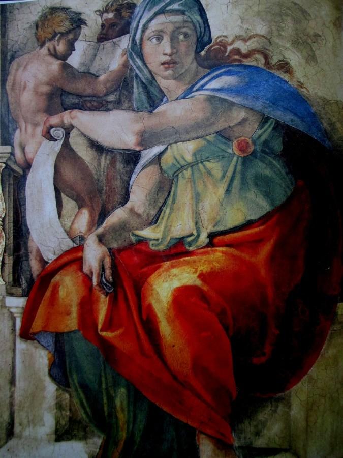 Michelangelo | Delphic Sibyl