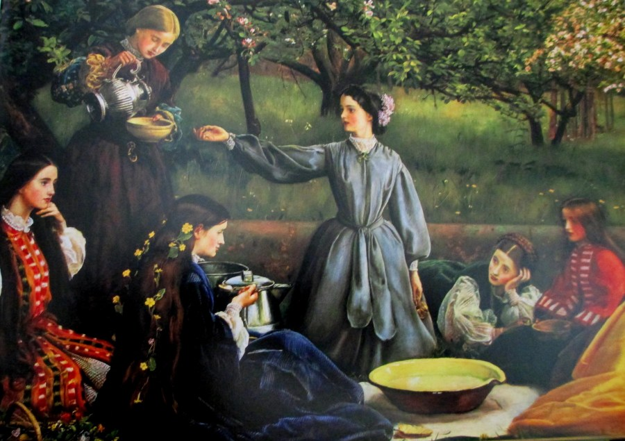 John Everett Millais | Spring Apple blossom (1859)