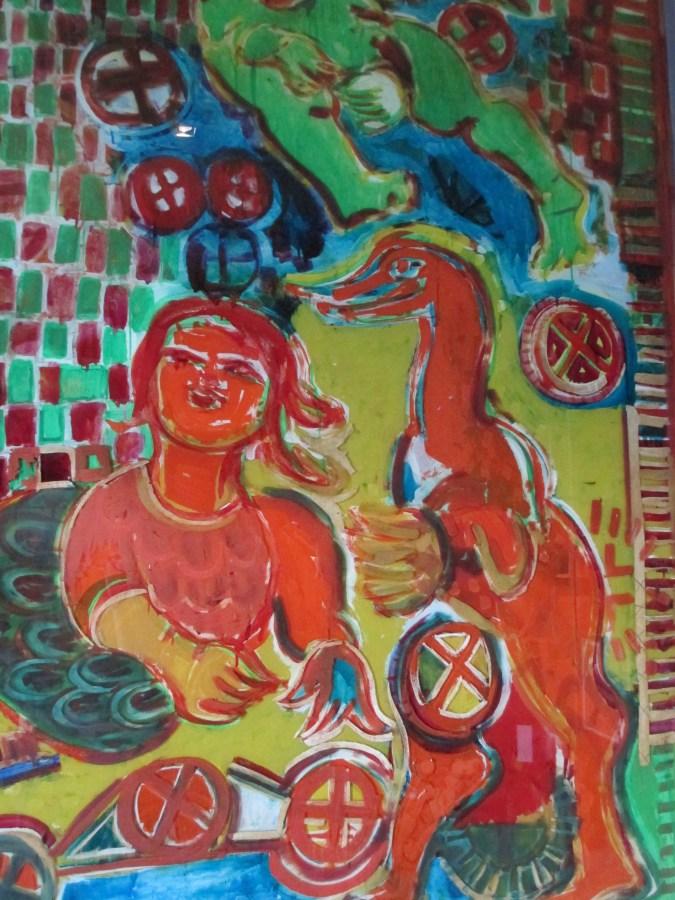 Mirka Mora mural (Fitzroy Stree