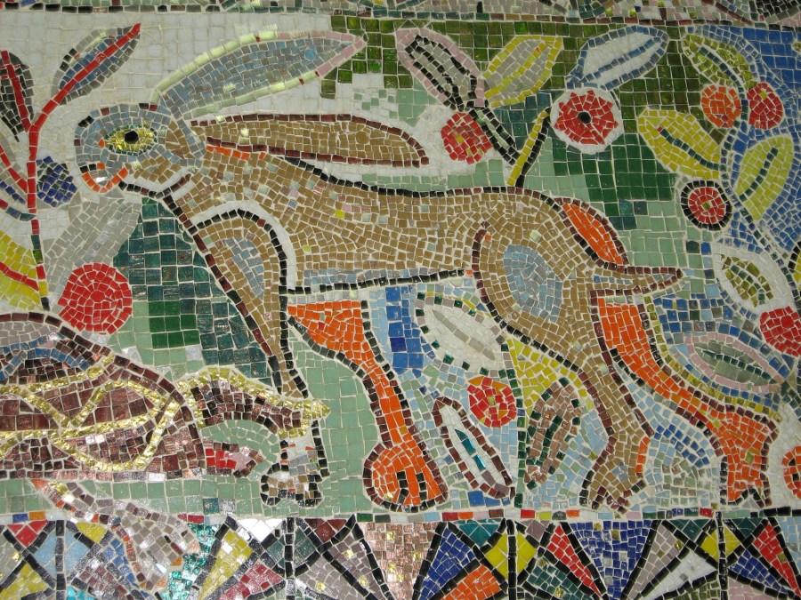 Mirka Mora | mosaic wall Melbourne