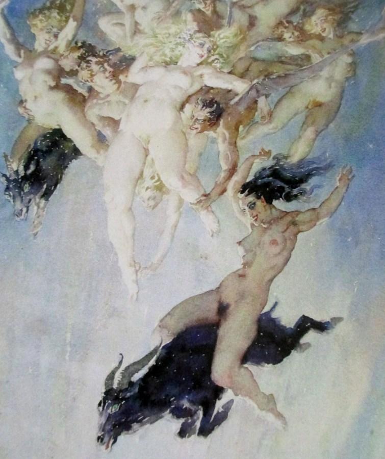 Norman Alfred Williams Lindsay | Descent of Calliope (1944)