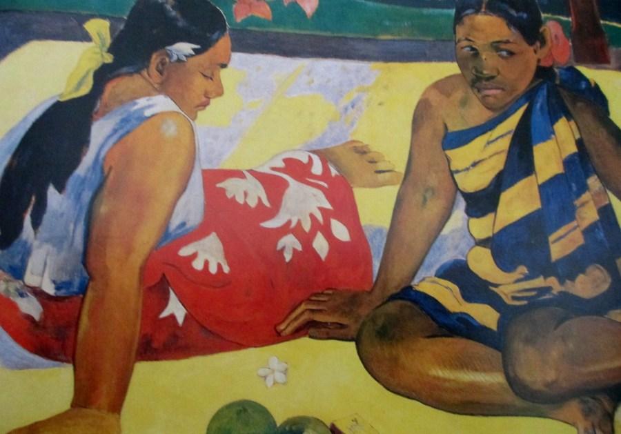 Paul Gauguin | Two Women from Tahiti (1892)