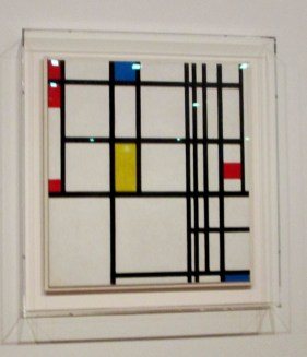 Piet Mondrian | Composition in red, blue and yellow