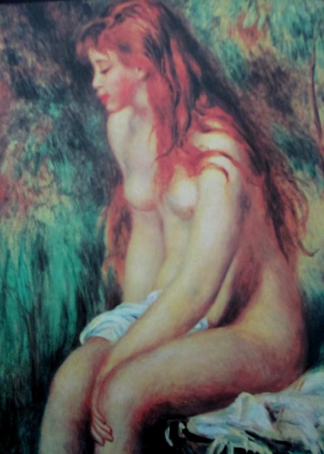 Pierre-Auguste Renoir | Seated Bather (1893)