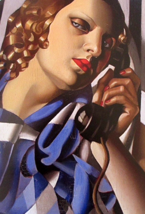 Tamara de Lempicka | The Telephone