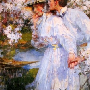 James Jebusa Shannon | In the Springtime 1896