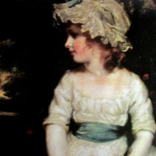 Joshua Reynolds   Simplicity Portrait of Miss Theophila Gwatkin 1886