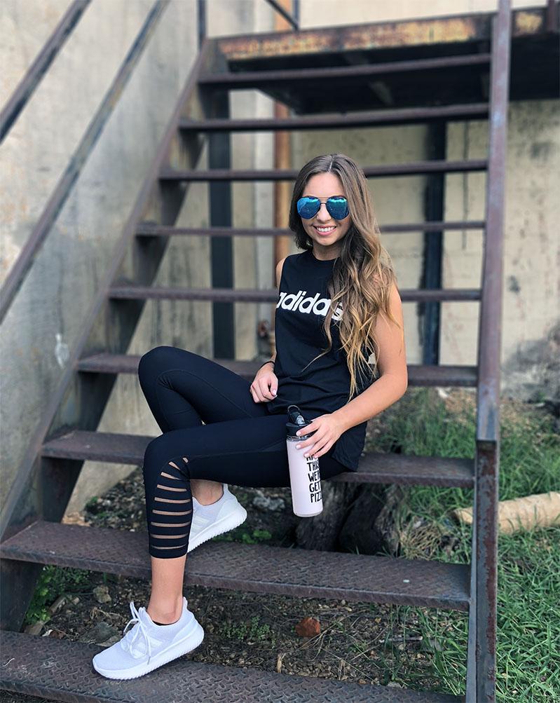 7efa5c8fbe4 Adidas Workout Outfit - Mary Anna Jefcoat