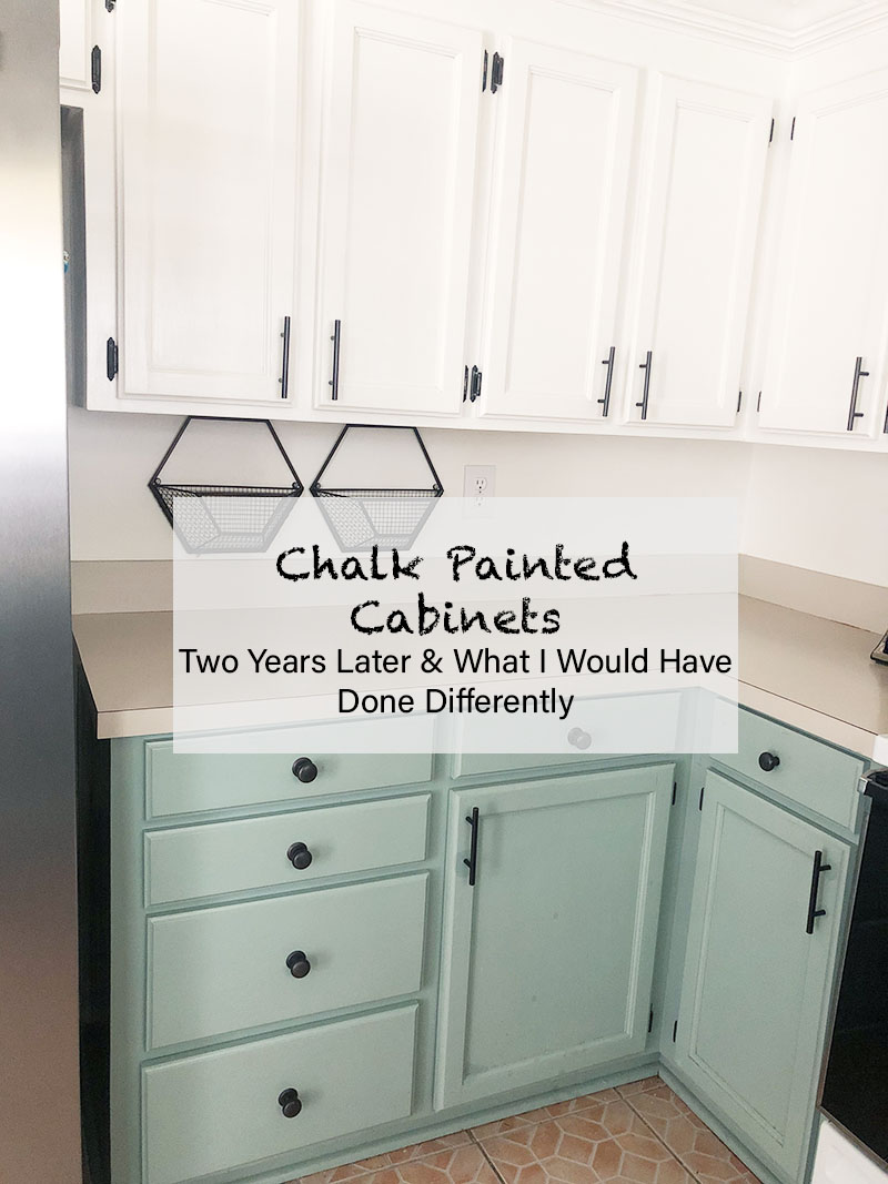 Image of: How My Chalk Painted Cabinets Have Held Up Mary Anna Jefcoat