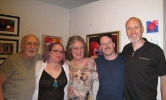 me,dany,paul,Peter Yarrow and Christopher Yarrow