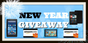 New Year Giveaway banner