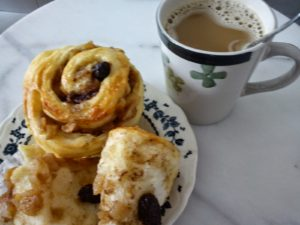 coffee-and-roll
