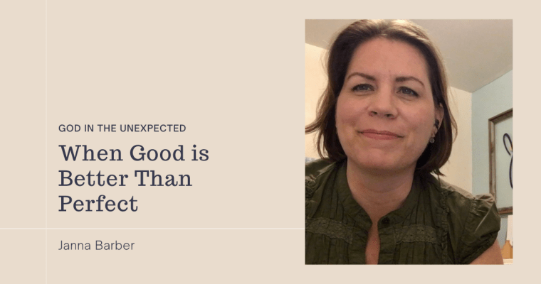 When Good is Better than Perfect