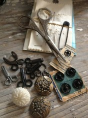 antique sewing