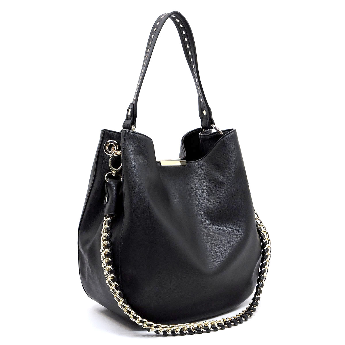72606cd106b1 Boss Lady Vegan Leather Hobo Bag