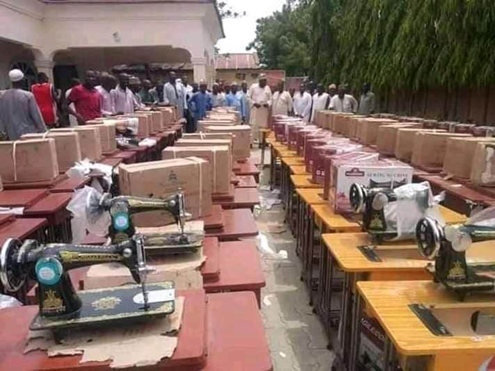 Aliyu Muhktar Shares 100 Vehicles, 500 Refrigerators, 400 Sewing Machines
