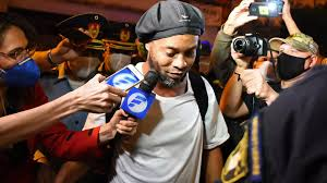 Ronaldinho released from Paraguay prison after five months