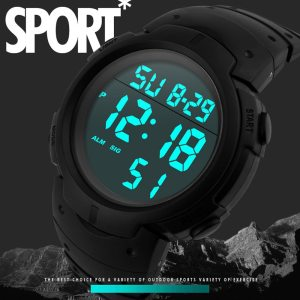 LED Digital Watch men Fashion Waterproof Men's