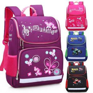 Children School Bags Orthopedic backpack For Girls Boys Waterproof Backpacks