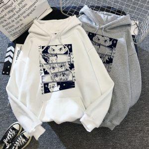 Hoodies Men Women Short Sleeve Sweatshirt