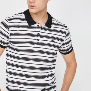 Koton Men 'S White T-Shirt 8 YAM11317MK