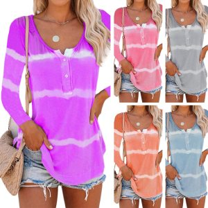 Women Summer V-Neck Short Sleeve T shirts Loose Sexy