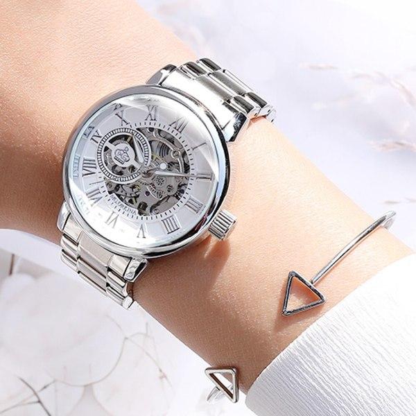 Women Mechanical Watch Female Clock Automatic Mechanical Watches
